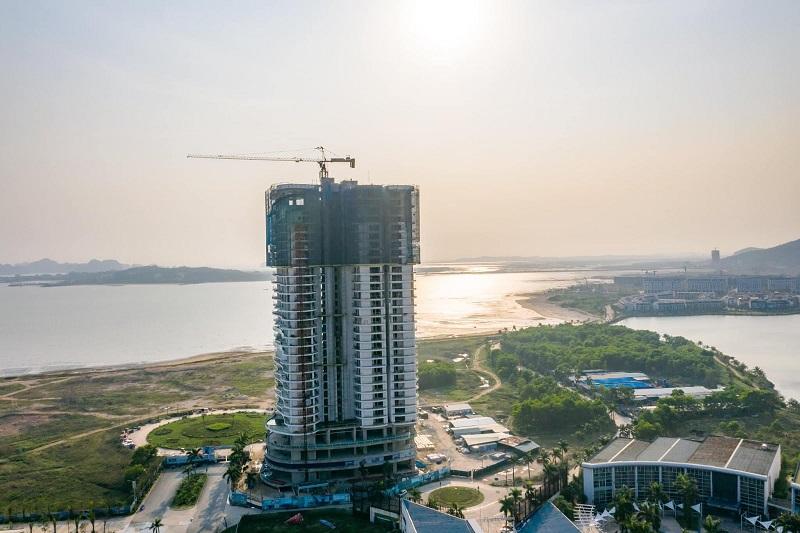 Tiến độ 2 tháng 2 dự án Citadines Hạ Long - Quảng Ninh