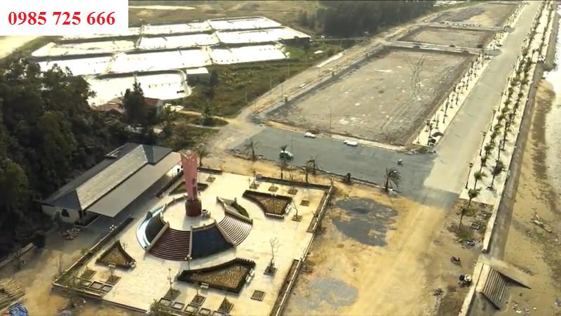 Tiến độ thi công 6 dự án Flamingo Crown Bay Hải Tiến - Thanh Hóa