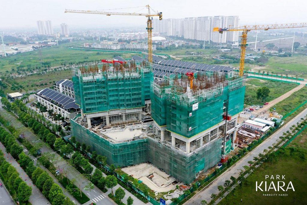 Tiến độ thi công Park Kiara Hà Đông - Park City Hà Nội