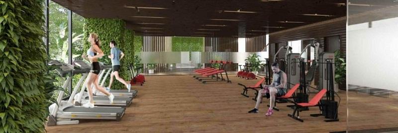 Tiện ích gym ở Flamingo Crown Bay Hải Tiến - Thanh Hóa