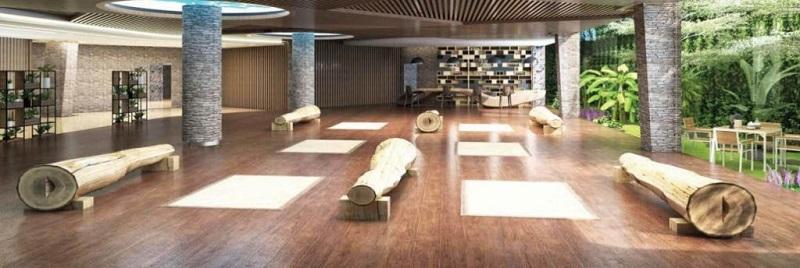 Tiện ích yoga ở Flamingo Crown Bay Hải Tiến - Thanh Hóa