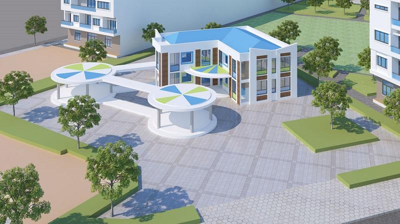 Trường mầm non dự án Aroma Đồng Kỵ - Từ Sơn - Bắc Ninh