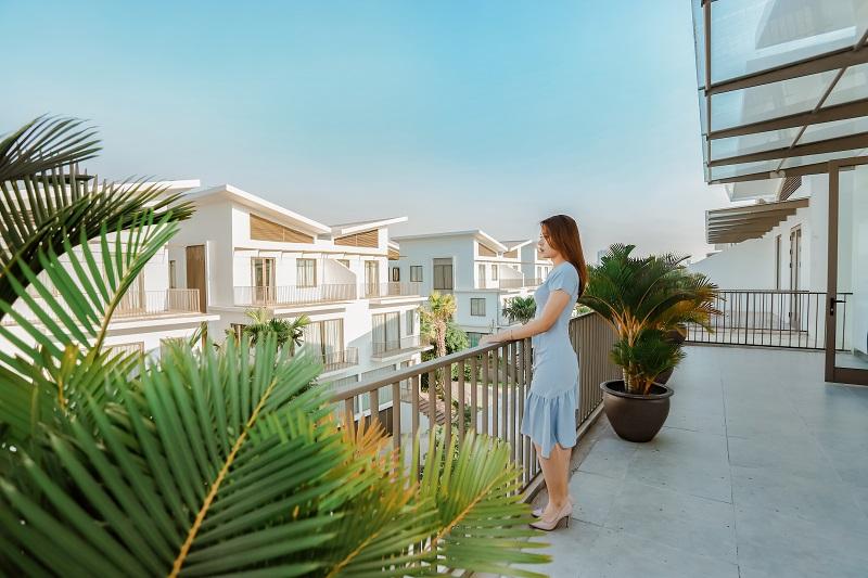 View dự án biệt thự Khai Sơn Hill Long Biên