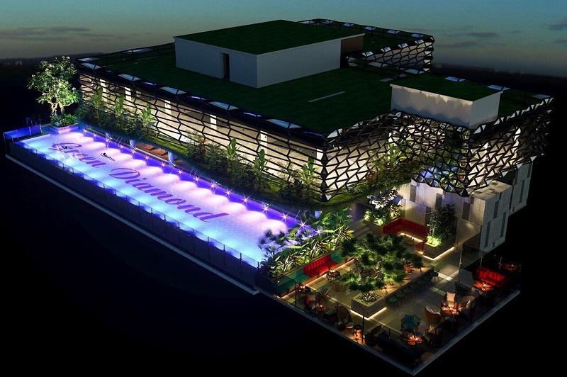 Bể bơi dự án Green Diamond Hạ Long Handico 6