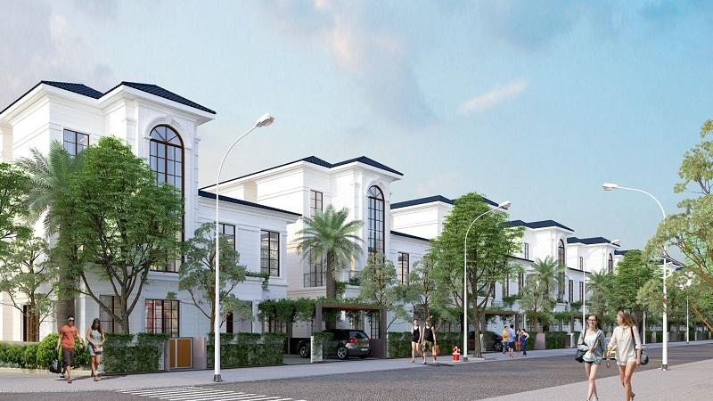 Biệt thự dự án Feni City Hạ Long - Cao Xanh Hà Khánh C