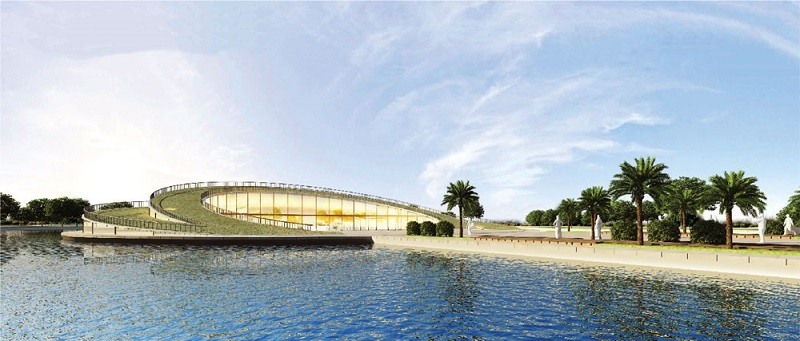 Công viên dự án Sol Lake Villa Biệt thự Đô Nghĩa - Dương Nội - Nam Cường