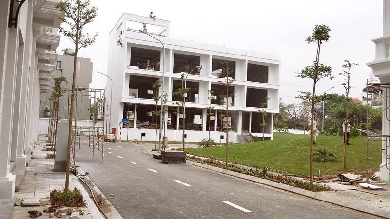 Hình ảnh thực tế 3 dự án Liền kề Phú Diễn Vinadic