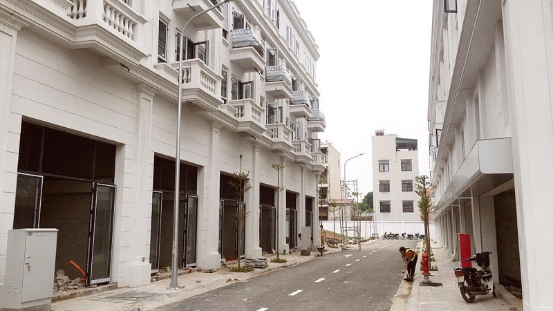 Hình ảnh thực tế 4 dự án Liền kề Phú Diễn Vinadic