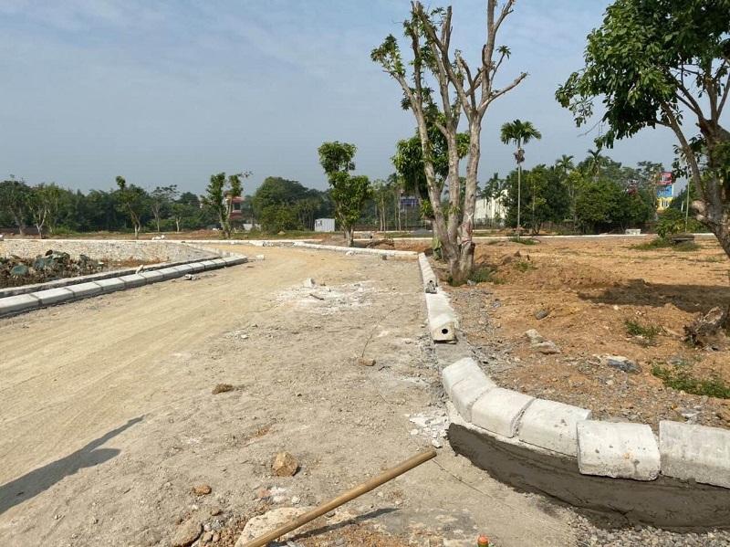 Hình ảnh thực tế 6 hạ tầng đất nền Hòa Lạc Lotus