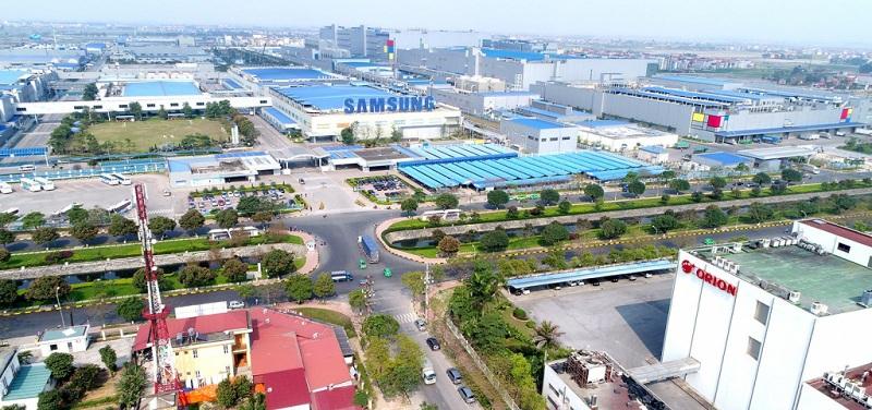 Samsung Khu công nghiệp Yên Phong (Bắc Ninh) cạnh Dũng Liệt Green City