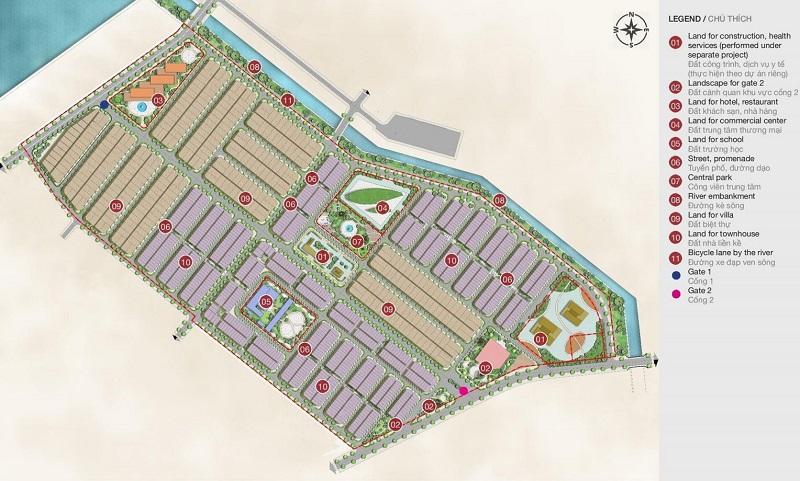 Mặt bằng phân lô dự án Feni City Hạ Long - Cao Xanh Hà Khánh C