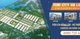Mở bán dự án Feni City Hạ Long - Cao Xanh Hà Khánh C