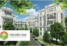 Mở bán dự án Liền kề Phú Diễn Vinadic
