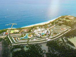 Phối cảnh 2 dự án AE Resort Cửa Tùng - Quảng Trị