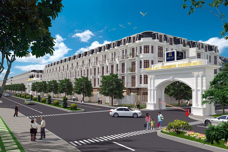 Phối cảnh 2 dự án Hòa Lạc Premier Residence 2020