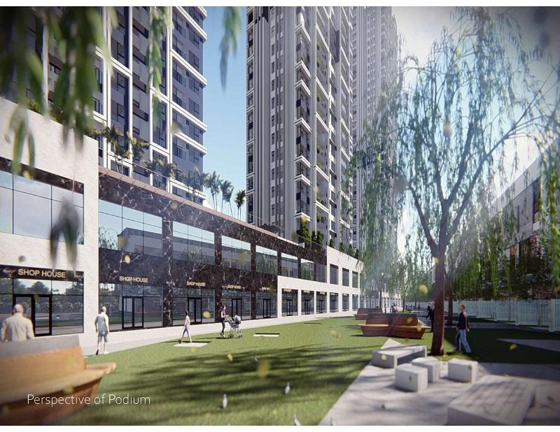 Phối cảnh 3 chung cư Sky Oasis khu đô thị Ecopark