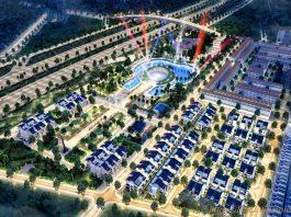 Phối cảnh 5 Sol Lake Villa Biệt thự Đô Nghĩa - Dương Nội - Nam Cường