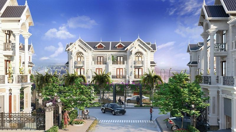 Phối cảnh biệt thự Hòa Lạc Premier Residence