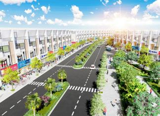 Phối cảnh dự án Phố Thắng Central Park Hiệp Hòa - Bắc Giang