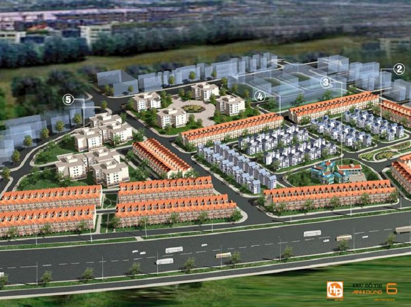 Phối cảnh dự án Dương Kinh New City - Anh Dũng 6 Hải Phòng