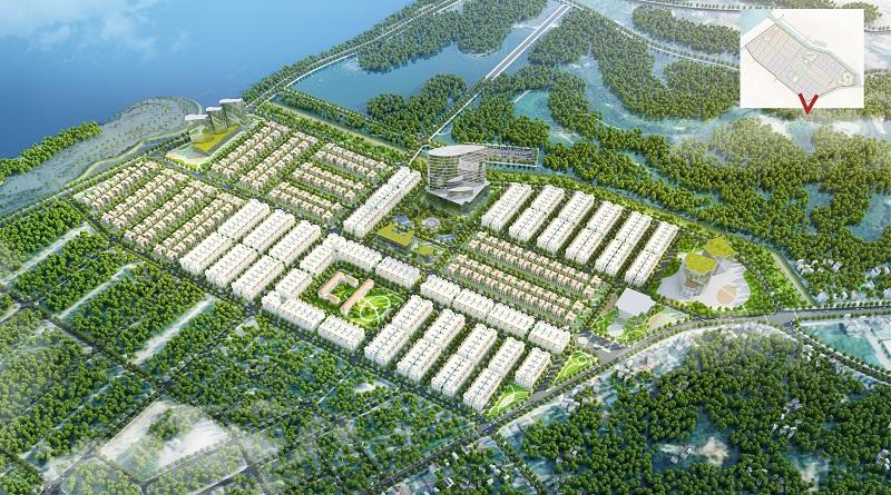 Phối cảnh dự án Feni City Hạ Long - Cao Xanh Hà Khánh C