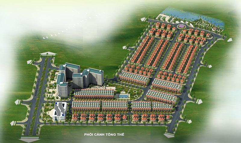 Phối cảnh tổng thể dự án Mê Linh Vista City 2020