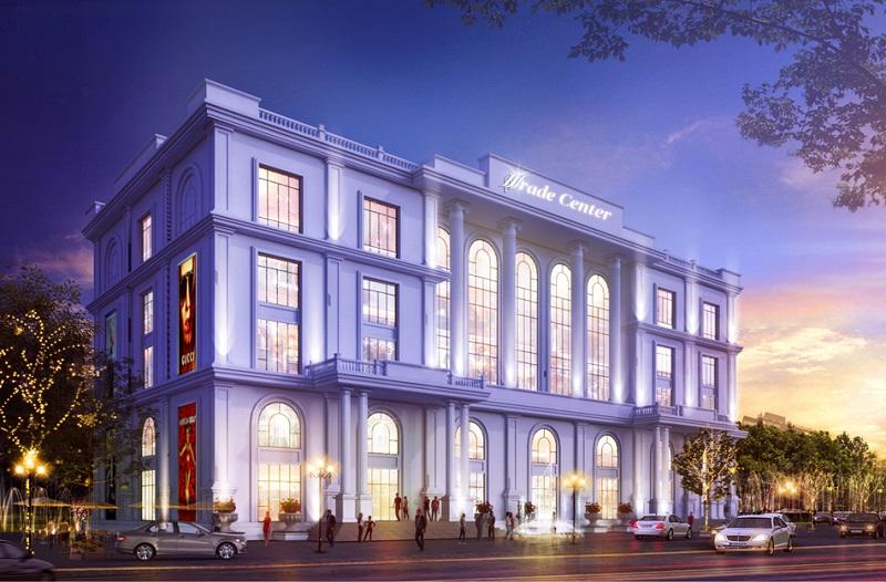 Phối cảnh TTTM dự án Mê Linh Vista City 2020