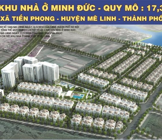 Quy hoạch dự án Mê Linh Vista City 2020