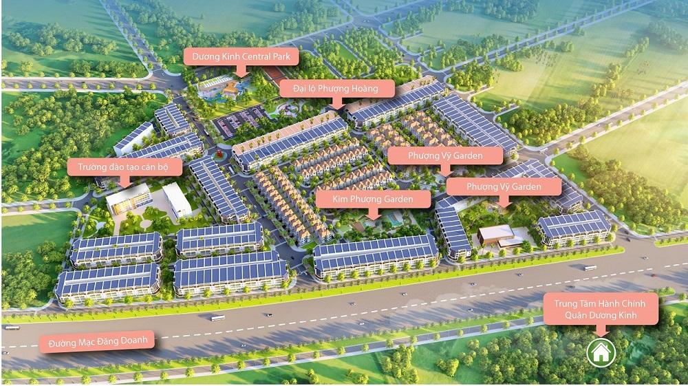 Quy hoạch Dương Kinh New City Hải Phòng Anh Dũng 6