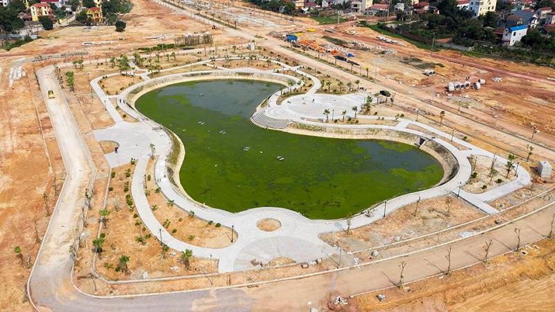 Tiến độ 2 dự án Phố Thắng Central Park Hiệp Hòa - Bắc Giang