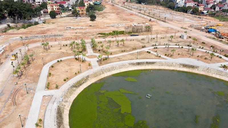Tiến độ 3 dự án Phố Thắng Central Park Hiệp Hòa - Bắc Giang