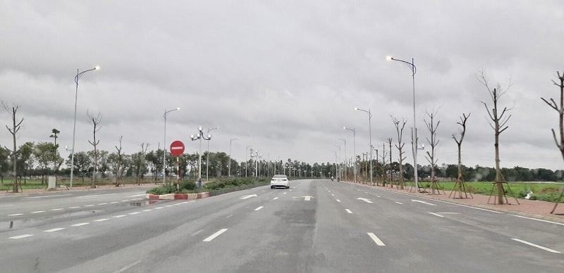Tiến độ hạ tầng dự án Minh Đức - Mê Linh Vista City