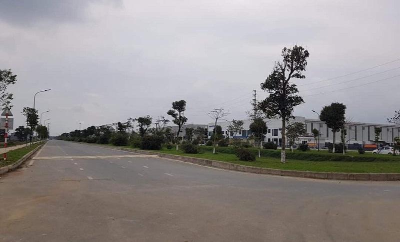 Tiến độ thi công 1 dự án Dũng Liệt Green City Yên Phong - Bắc Ninh