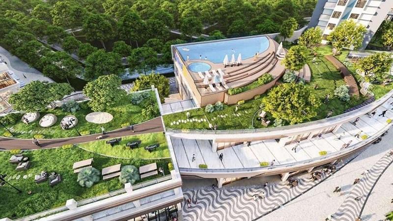 Tiện ích độc đáo tòa S3 Sky Oasis Ecopark