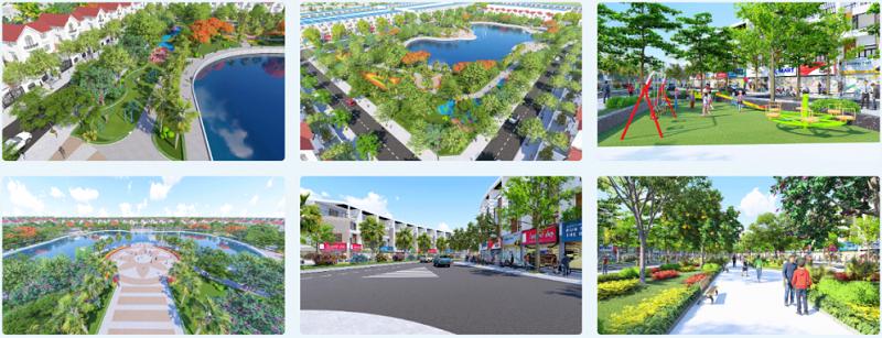Tiện ích dự án Phố Thắng Central Park Hiệp Hòa - Bắc Giang