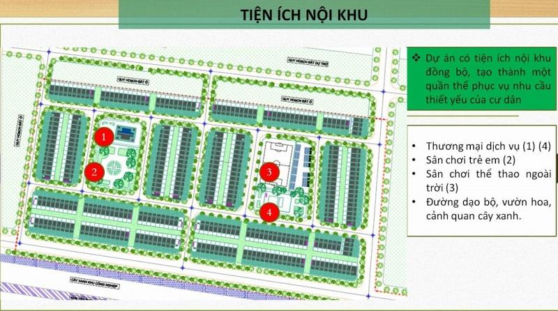 Tiện ích dự án Dũng Liệt Green City - Bắc Ninh
