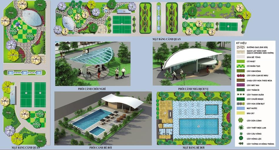 Tiện ích dự án Khu đô thị Minh Đức - Mê Linh