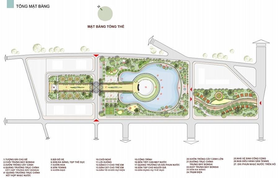 Tiện ích dự án Sol Lake Villa Biệt thự Đô Nghĩa - Dương Nội - Nam Cường