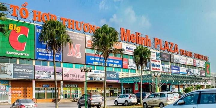 Tổ hợp thương mại Mê Linh Plaza gần Khu đô thị Minh Đức - Mê Linh