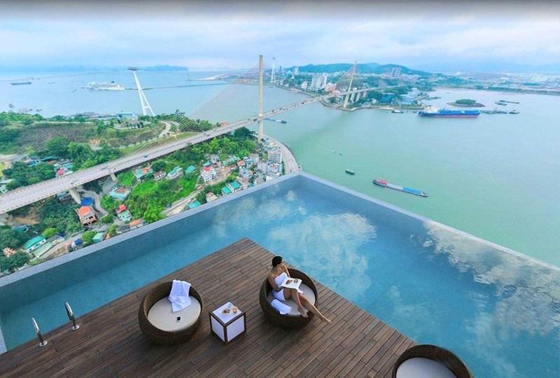 View Cầu Bãi Cháy từ dự án Green Diamond Hạ Long Handico 6