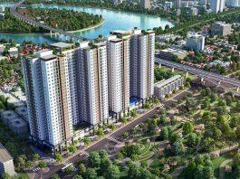 Phối cảnh 2 dự án Phương Đông Green Park số 01 Trần Thủ Độ