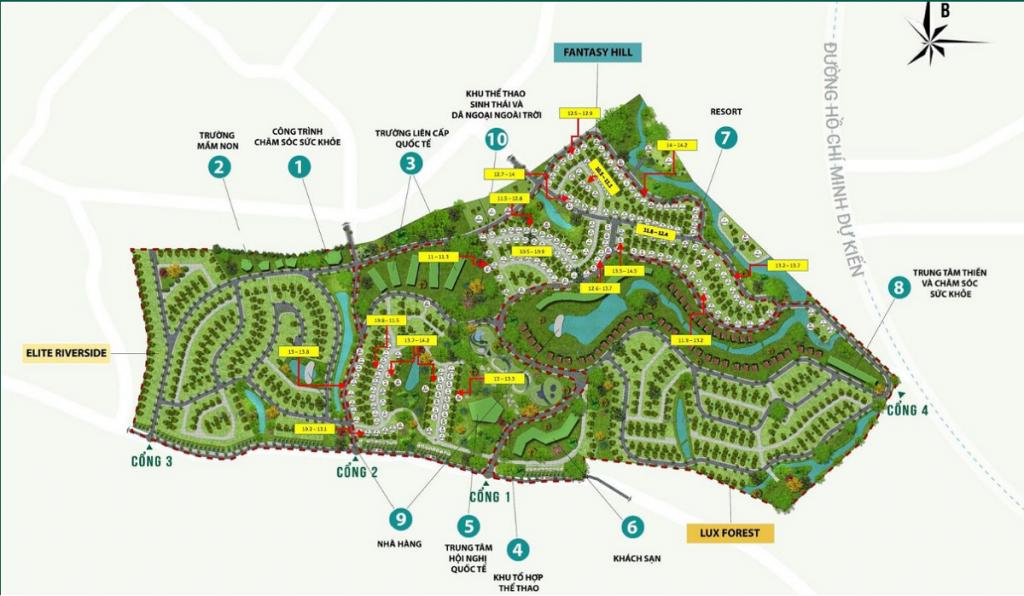 Bản đồ giá đất dự án Legacy Hill Lương Sơn - Hòa Bình