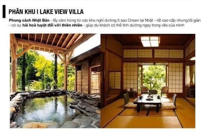 Biệt thự Ven Hồ dự án Vinpearl Mỹ Lâm - Tuyên Quang