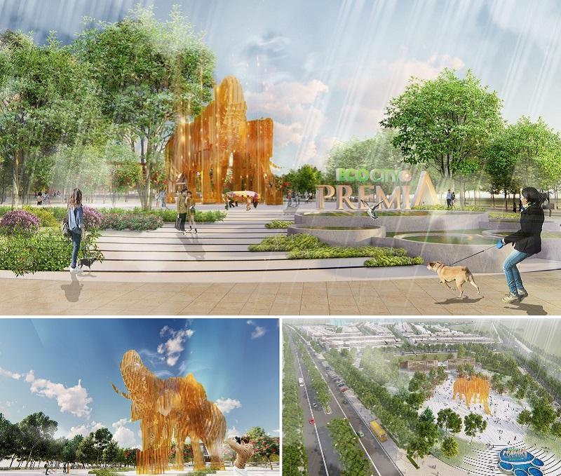 Biểu tượng dự án Eco City Premia Buôn Ma Thuột
