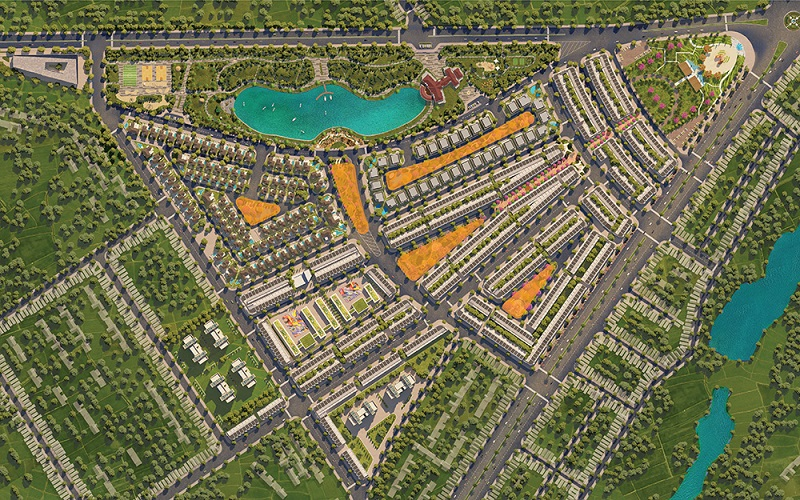 Công viên vùng lõi dự án Eco City Premia Buôn Ma Thuột