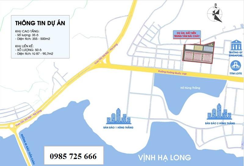 Dự án Đất Nền Khu Đa Giác Tây Hùng Thắng - Bãi Cháy - Hạ Long