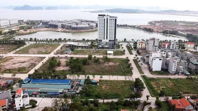 Flycam dự án đất nền Liền Kề, Nhà hàng, Khách sạn Tây Hùng Thắng - Bãi Cháy - Hạ Long