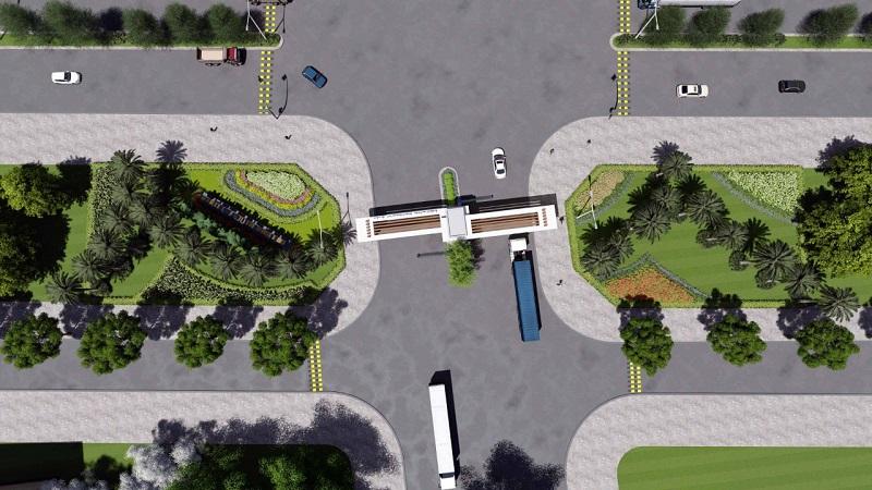 Hạ tầng giao thông khu công nghiệp Điềm Thụy - Thái Nguyên