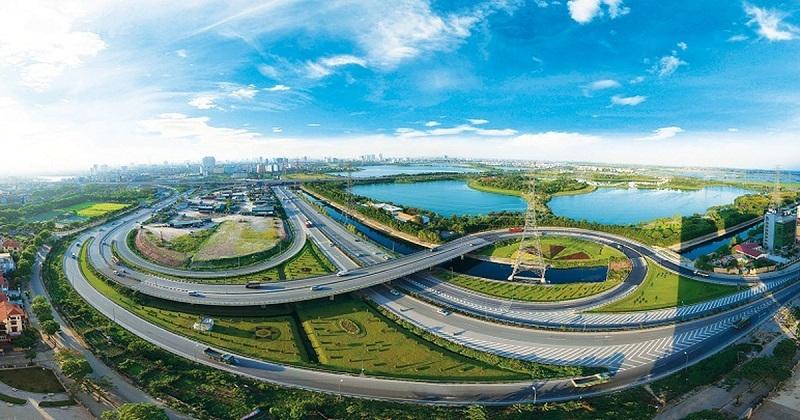 Hạ tầng giao thông quận Hoàng Mai đang dần hoàn thiện