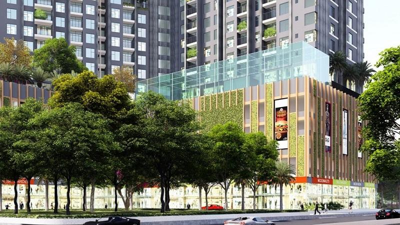 Không gian chung cư The Dandelion Residence Gamuda Yên Sở
